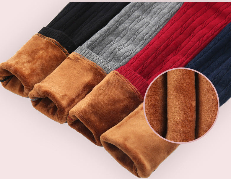 Lined Sweater Leggings (Various Colors Sold Separately)