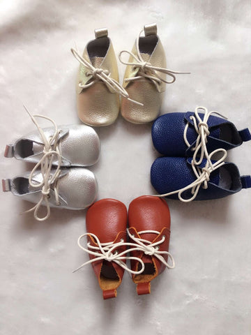 My First Lace Up Shoes (Various Colors Available)