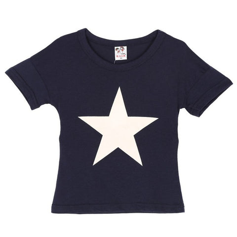 Casual star tshirt (Kids) - Choose your color