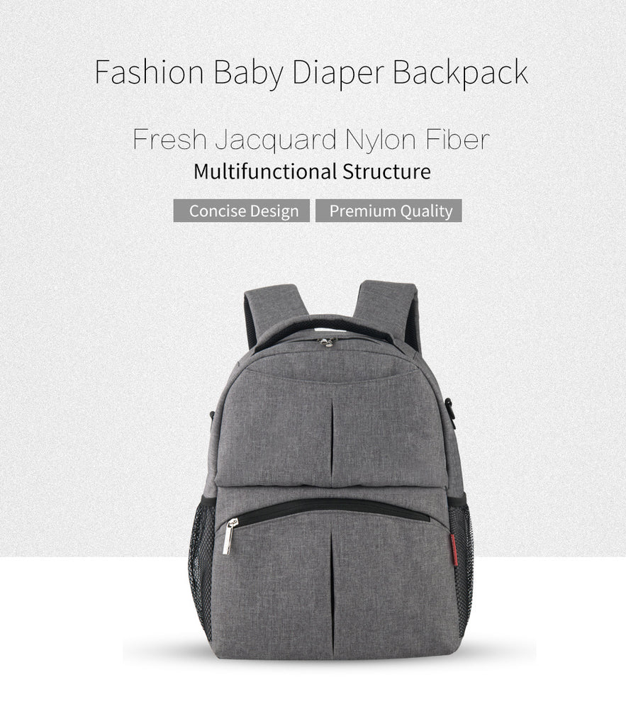 Fashionable Diaper Backpack - Great for travelling