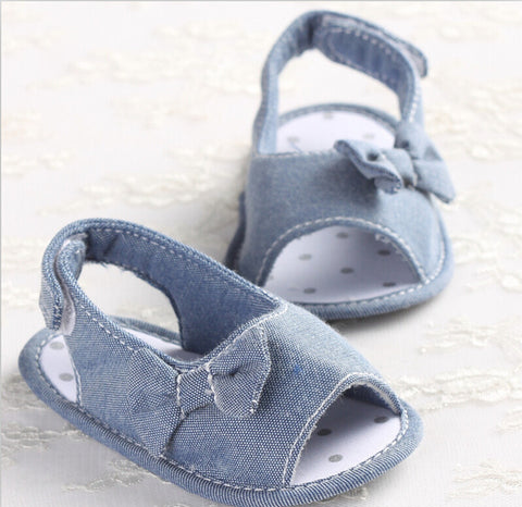 Denim summer sandals (Baby & Toddler)