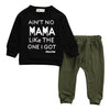Four Tops Aint No Mama Two Piece Outfit (Baby & Toddler)