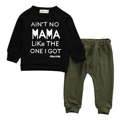 Four Tops Two Piece Outfit (Baby & Toddler)