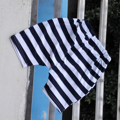 Striped Harem Shorts (Toddler & Kids)