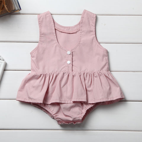 Sandy Simple Pink summer outfit (Baby & Toddler)