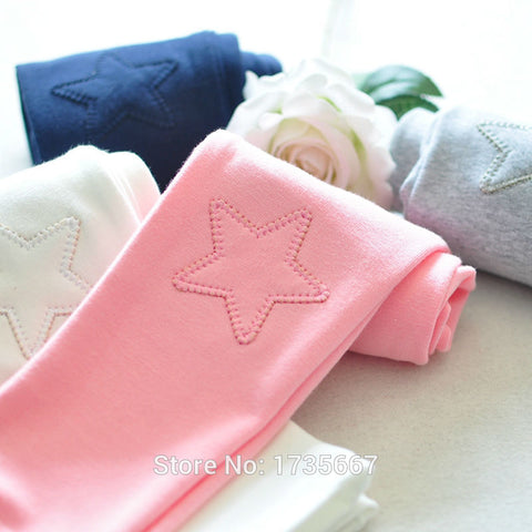 Super Star Girl's Leggings (Choose Your Color)