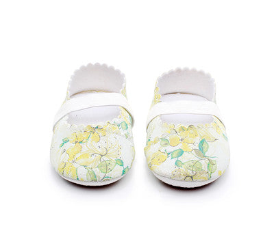 Floral Soft Baby Shoes