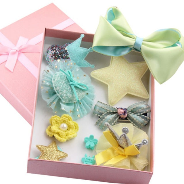 Girl's Hair Accessories Gift Set