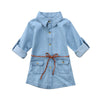 Denim Dress with belt (Girl)