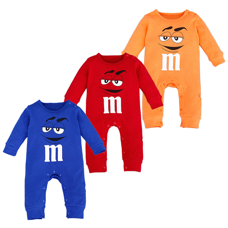 M & M jumpsuit costume