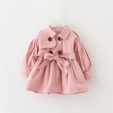 Spring trench coat (Toddler & Kids) - Choose your color