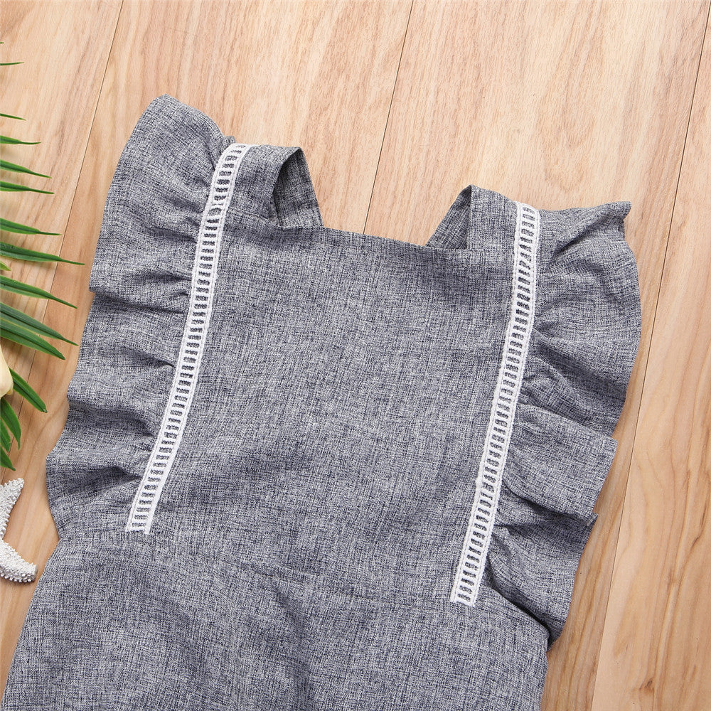 Gloria Denim Romper
