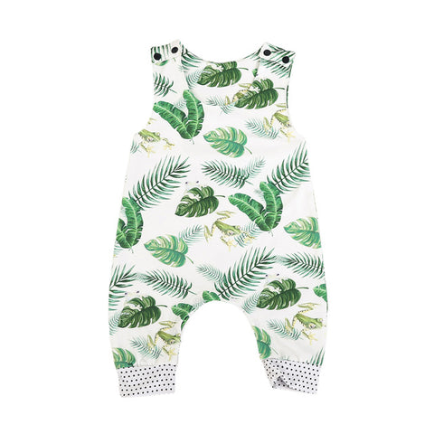 Green Leaves Jumpsuit unisex (Baby & Toddler)