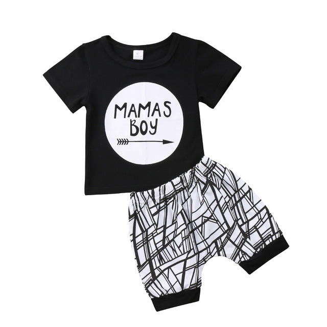 Mama's Boy two pieces outfit (Baby & Toddler)