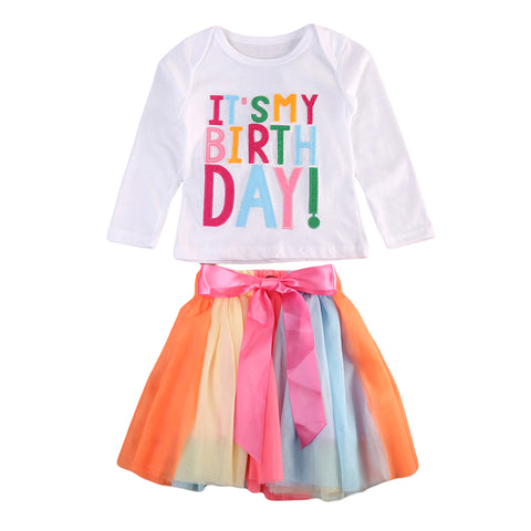 It's my birthday 2 pieces outfit (Toddler & Kids)