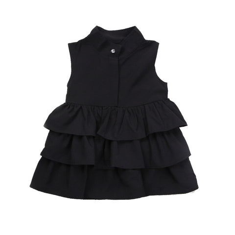 Ruffled Dress (Kids) - Choose your color)