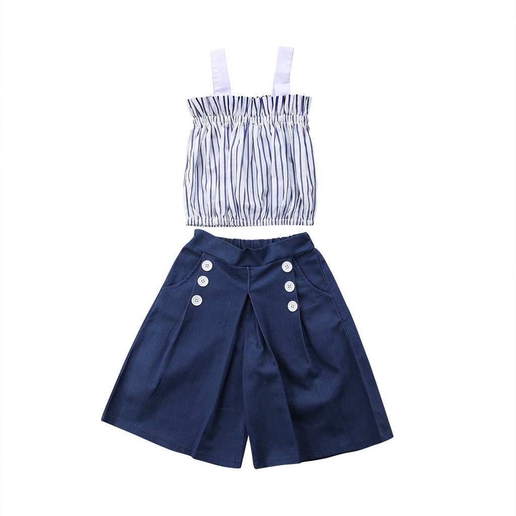 Alexandra denim outfit (Kids)