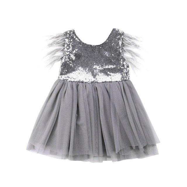 The sequin party dress