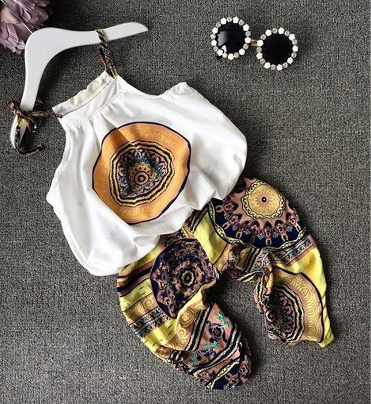 Victoria Boho Two Piece Outfit (Toddler & Kids)
