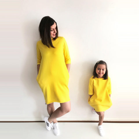 Yellow M&D outfit