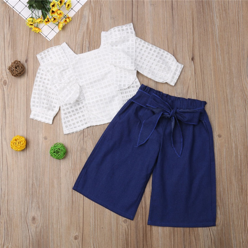 Blouse & Summer pants Outfit