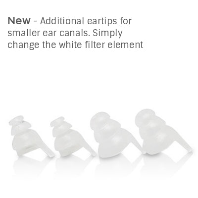 EGGZ Discreet Earplugs - X6 Music Set