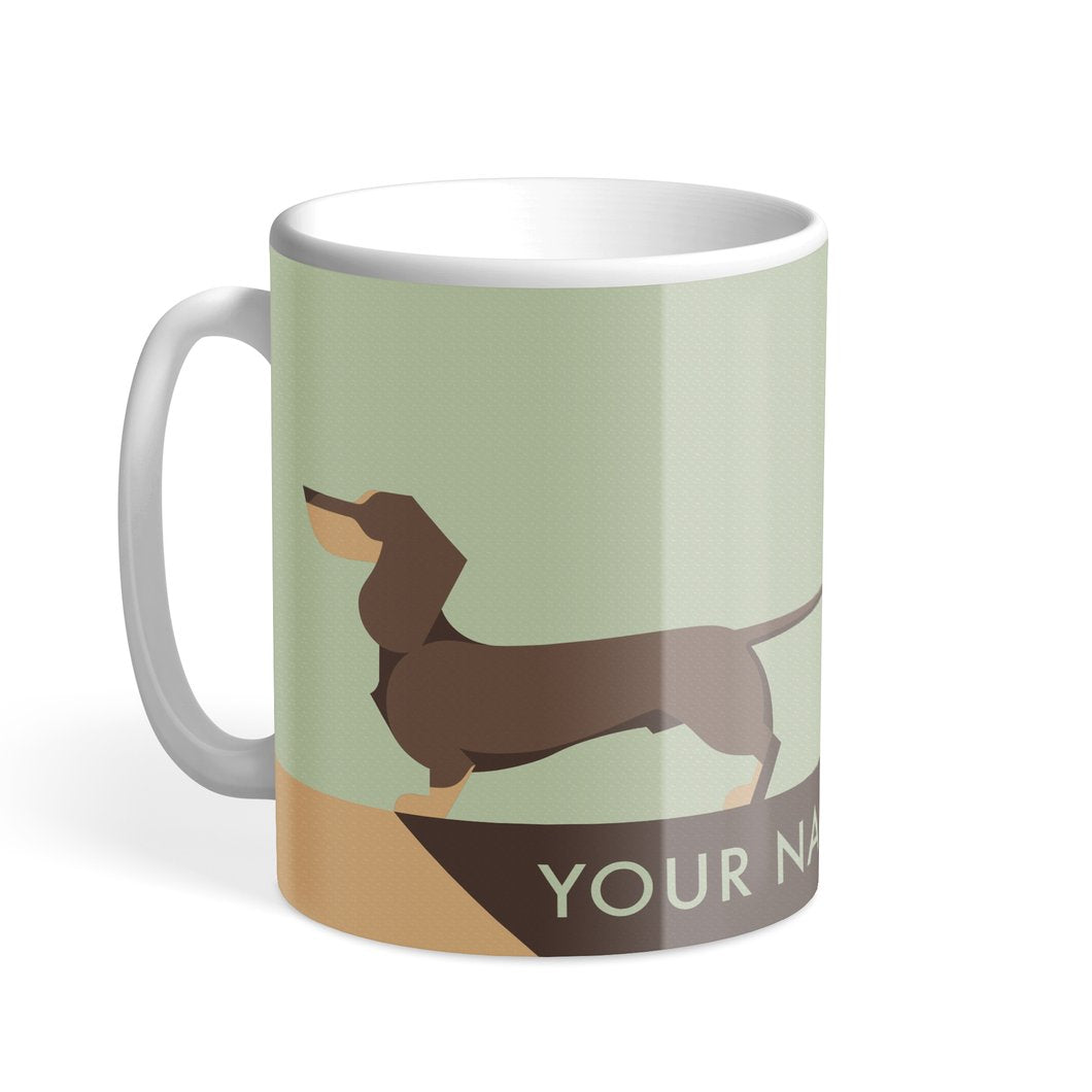 Personalized Dachshund Mug by H&H