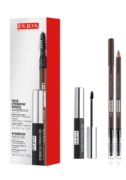Limited Edition - Brow Kit - True Eyebrow Pencil + Transparant Eyebrow Fixing Gel