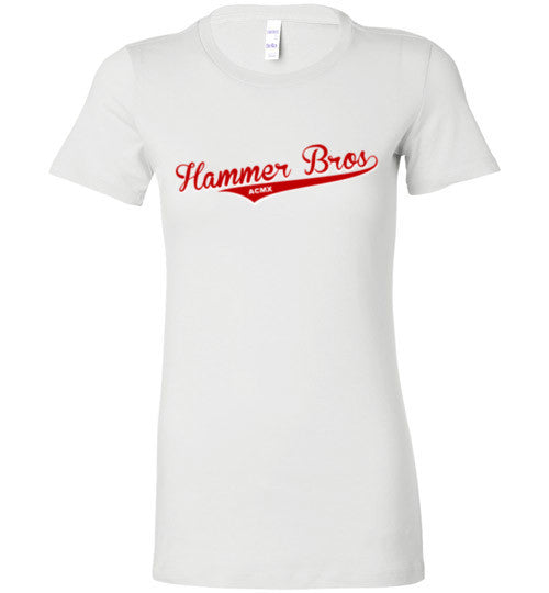 Women's Hammer Bros Baseball Logo shirt