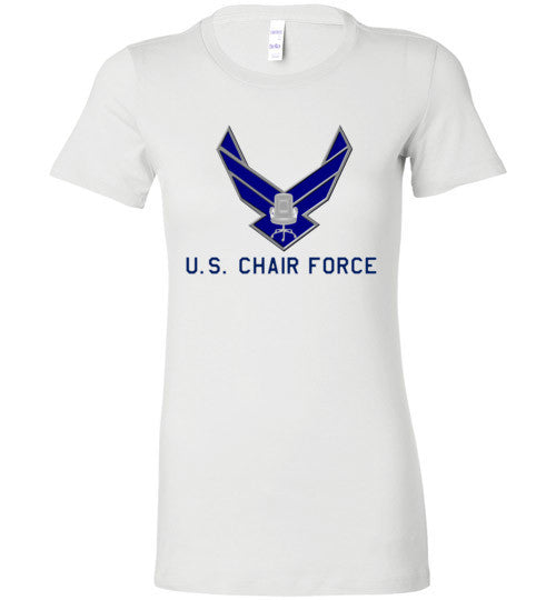 Women's Chair Force tee