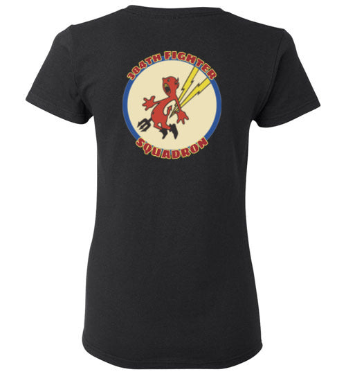 384th Fighter Squadron (WWII) Logo Tee