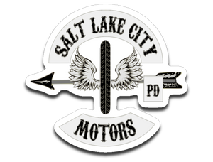 "Police SLCPD Motors ""Patch 2"" sticker"
