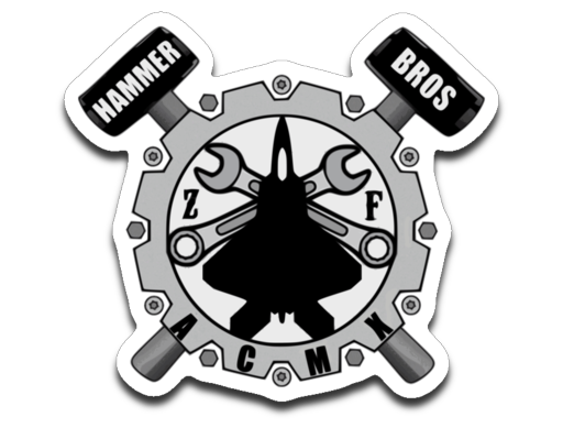 Jet & Wrenches sticker