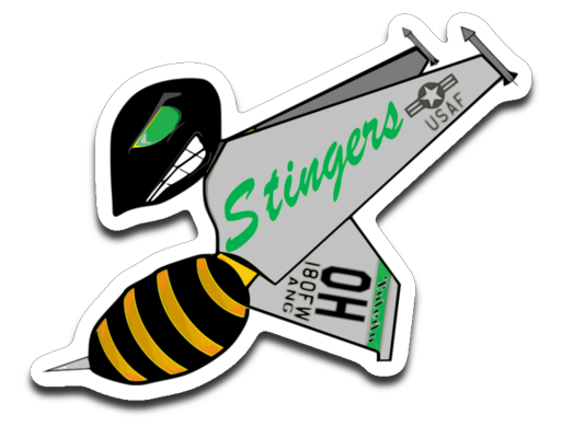 Stingers HB logo sticker