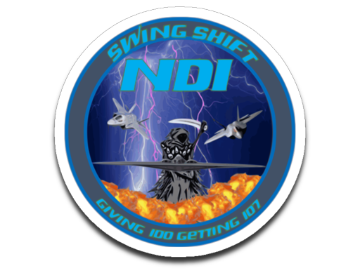 Swing Shift NDI Sticker