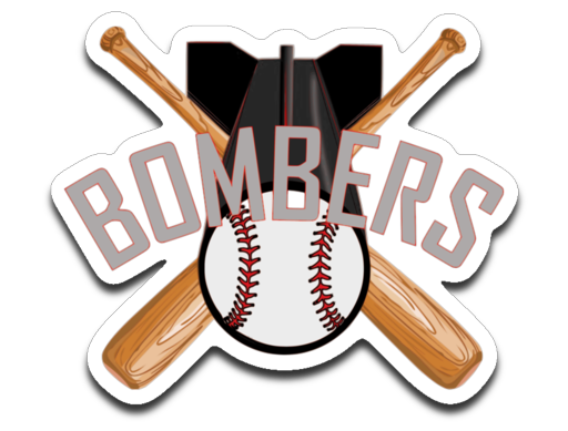Bombers Hat Style Logo Decal
