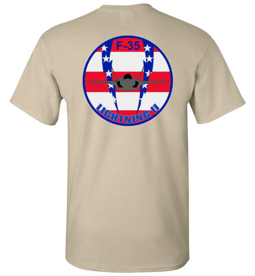 HB  Men's F-35 Flag Logo Tee