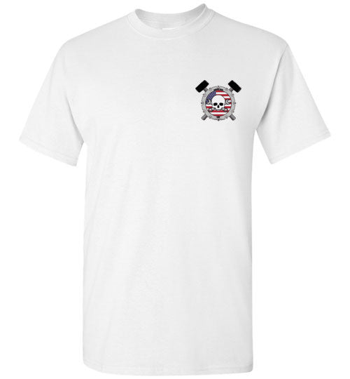 Mens S.A.C. throwback T-shirt