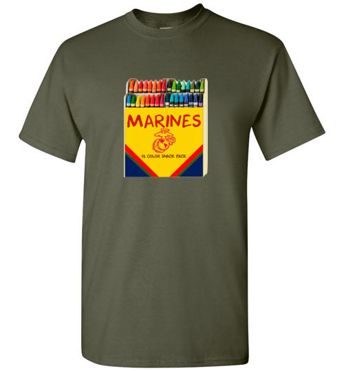 Men's HB Marines Crayons Tee