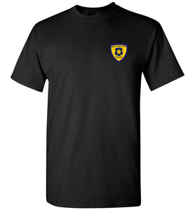 SLC PD Blue Line Patch Tee