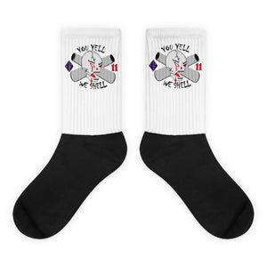 1-11 Marines PT logo socks