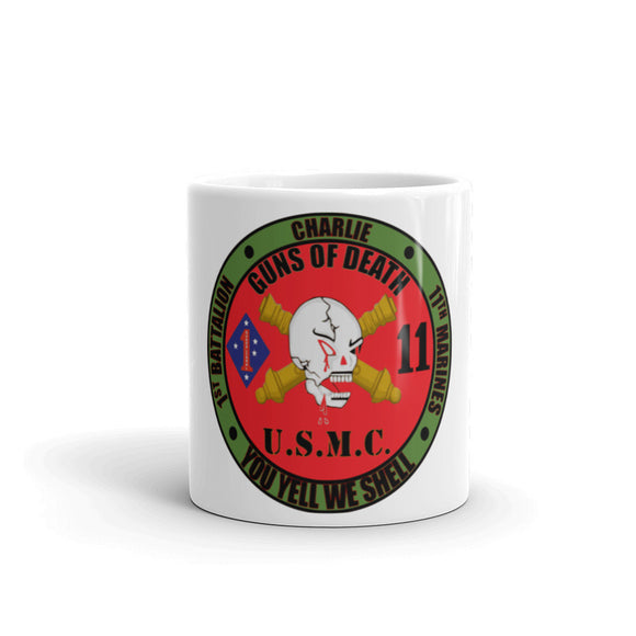 U.S.M.C. 1st Battalion 11th Marines Charlie Mug