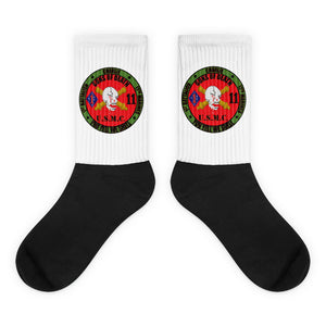 1st Battalion 11th Marines logo socks