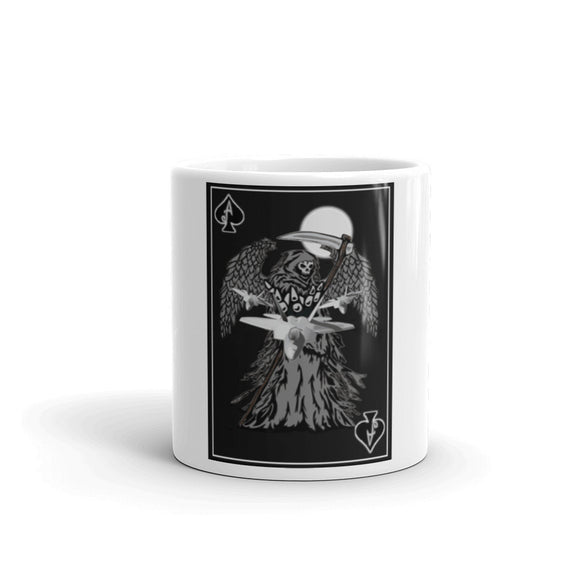 Death Card Mug -  made in the USA
