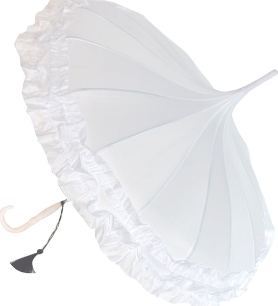 Classic Frilled Pagoda Umbrella