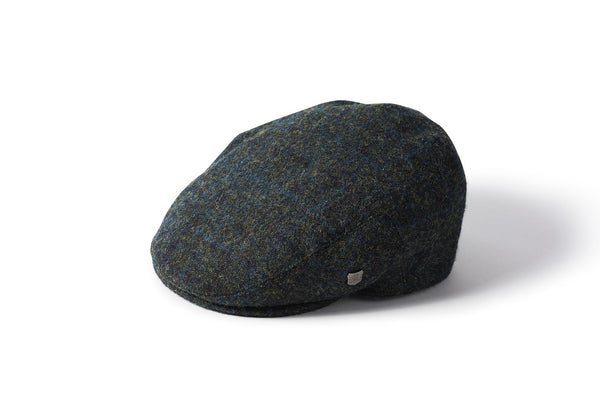 Stornoway Harris Tweed Flat Cap