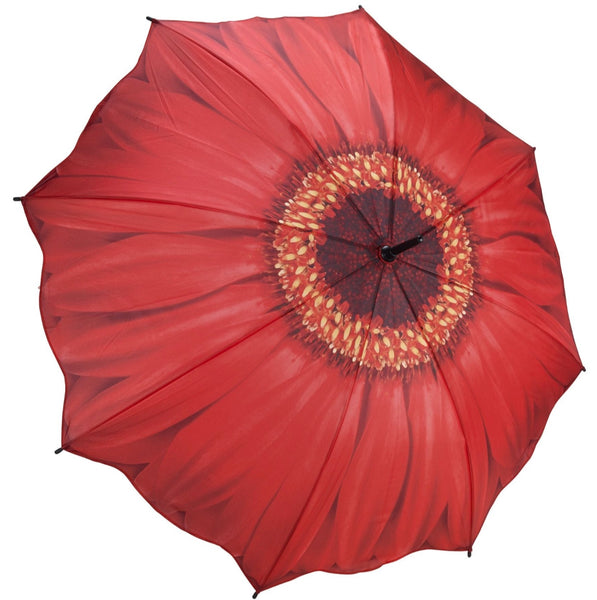 Red Daisy Umbrella