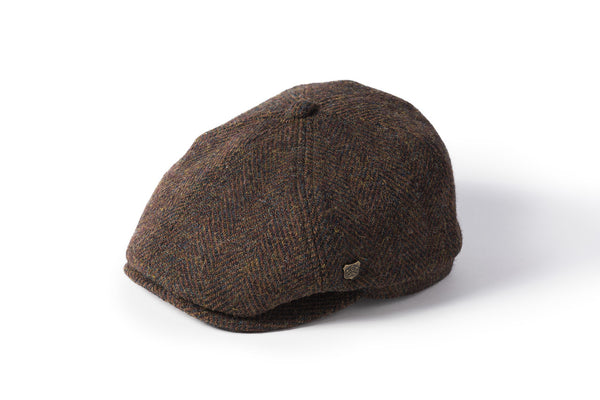 Hudson Harris Tweed Flat Cap