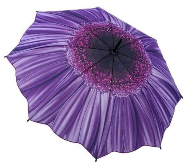Purple Daisy Umbrella