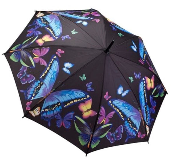 Moonlight Butterflies Umbrella